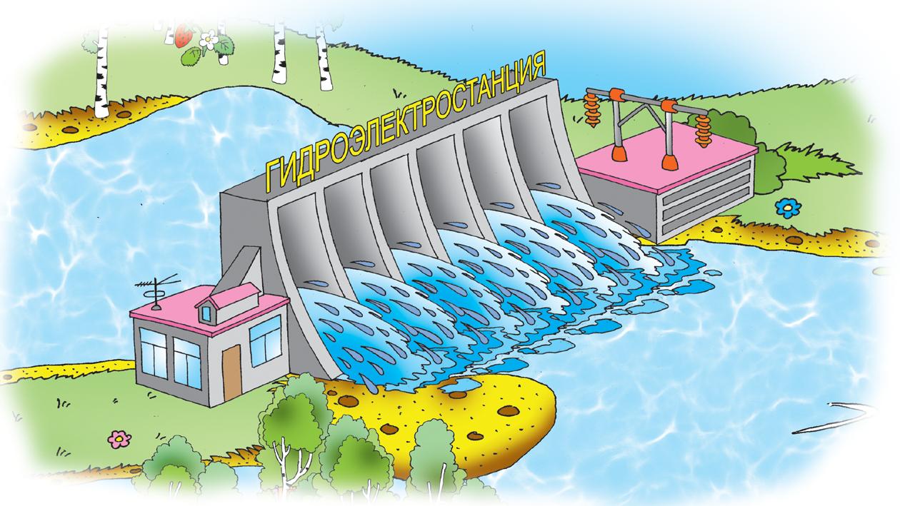 схема регулирующая контроль данного уровня воды